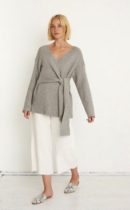 Little Lies Avery Wrap Knit