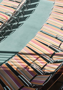 Striped Beach Chairs