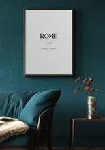 Load image into Gallery viewer, Rome Typography II