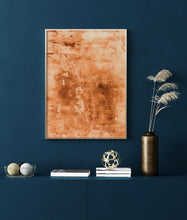 Load image into Gallery viewer, Orange Rustic Wall