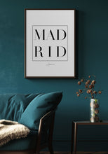 Load image into Gallery viewer, Madrid Typography III