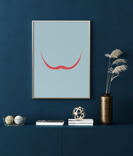 Load image into Gallery viewer, Red Mustache II