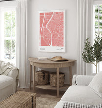 Load image into Gallery viewer, Seville Map Red