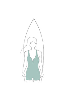 Woman Surfer II