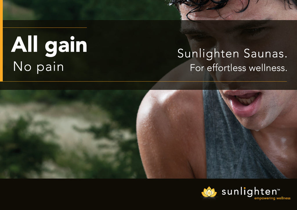 Promotional Poster #7 - All gain, no pain.