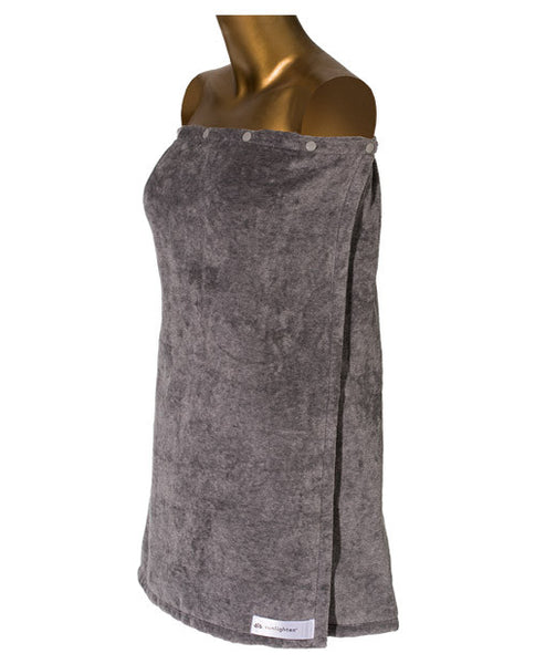 Bamboo Sauna Towels: Bamboo Carbon Body Wrap