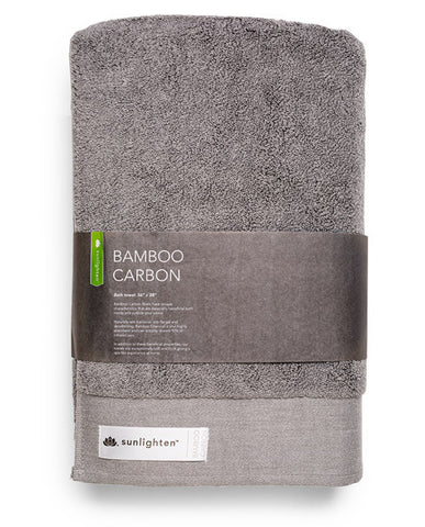 Bamboo Carbon Towel - Large