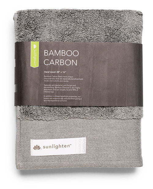 Bamboo Carbon Towel - Small