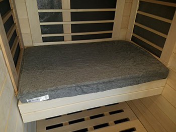 Signature Sauna Sauna Cushion Cover (1-4 person cabins) | FROM $55.00