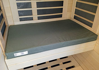 Signature Sauna Bench Cushions (1-4 person cabins) | FROM $150.00