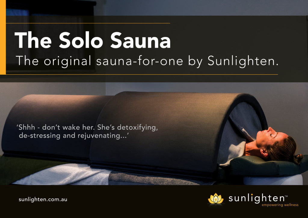 Promotional Poster #4 - The original sauna-for-one