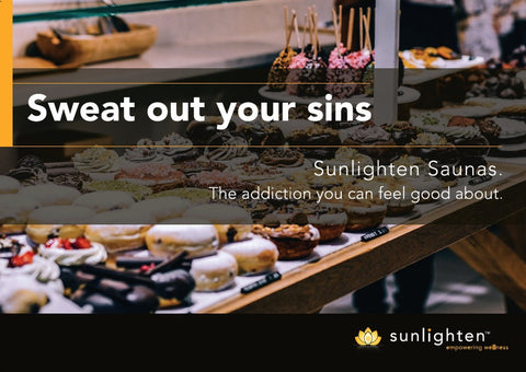 Promotional Poster #14 - Sweat out your sins (2)