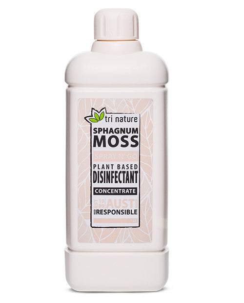 Sphagnum moss natural disinfectant