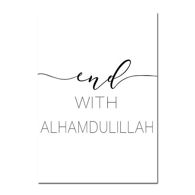 End with Alhamdulillah - Simay