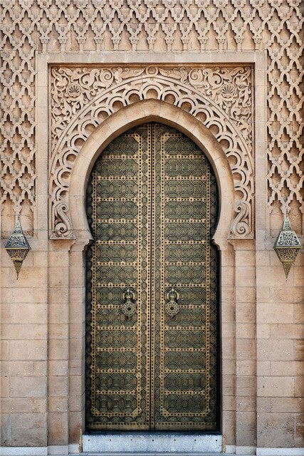 Hassan Mosque Gate - Simay