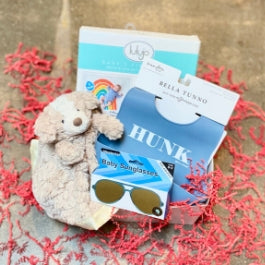 New Baby Boy Themed Gift Box