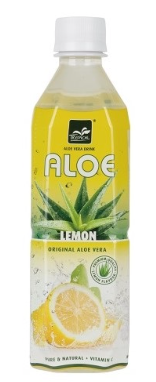 Tropical Aloe Vera Citron 500ml PET - 5pcs