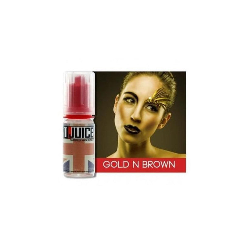 E-LIQUIDE GOLD N BROWN - T-JUICE | 10ML - 3 pcs