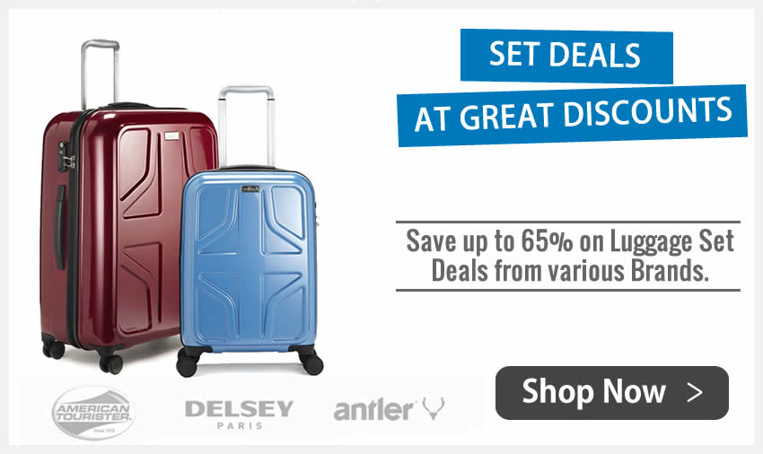 American Tourister Supremelite Set Luggage Suitcase