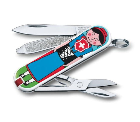 Victorinox Swiss Army Classic 2014 Pocket Knife - Singli - HK Online Shop for Luggage, Backpacks & Travel Accessories - 1