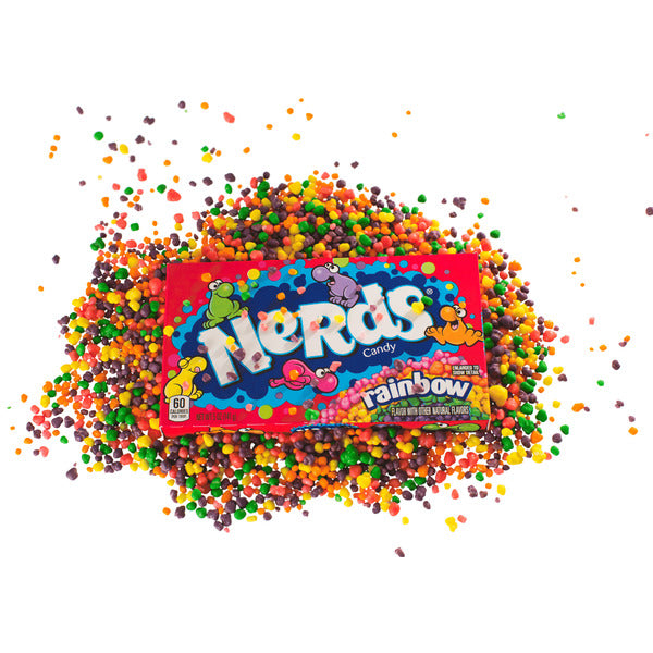 Wonka Box Nerds Rainbow, 141,7 gr - 3er Vorteilspack