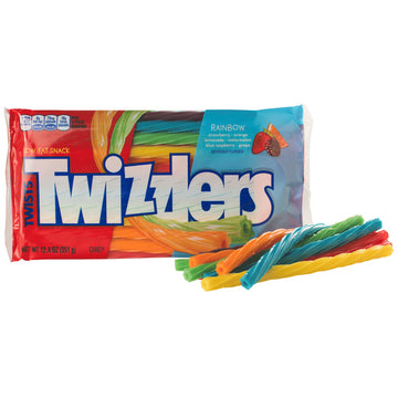 Twizzlers Rainbow Twist 351g