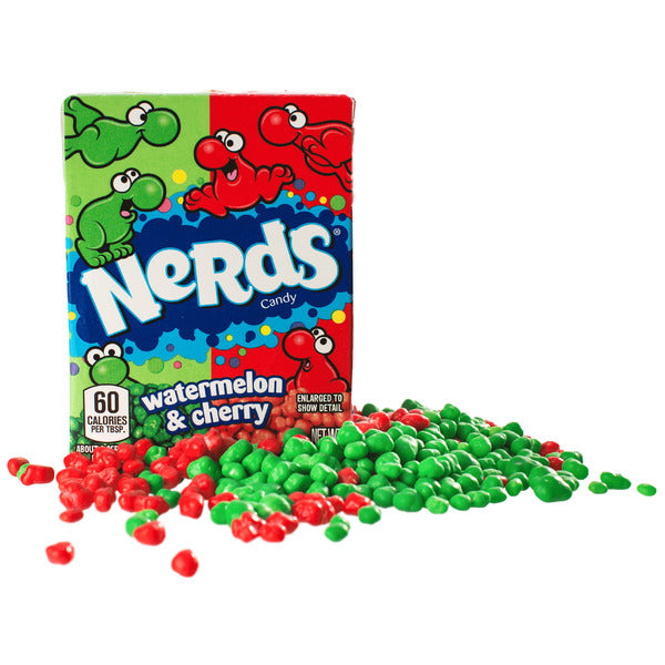 Wonka Box Nerds Watermelon/Wildcherry, 46,7g