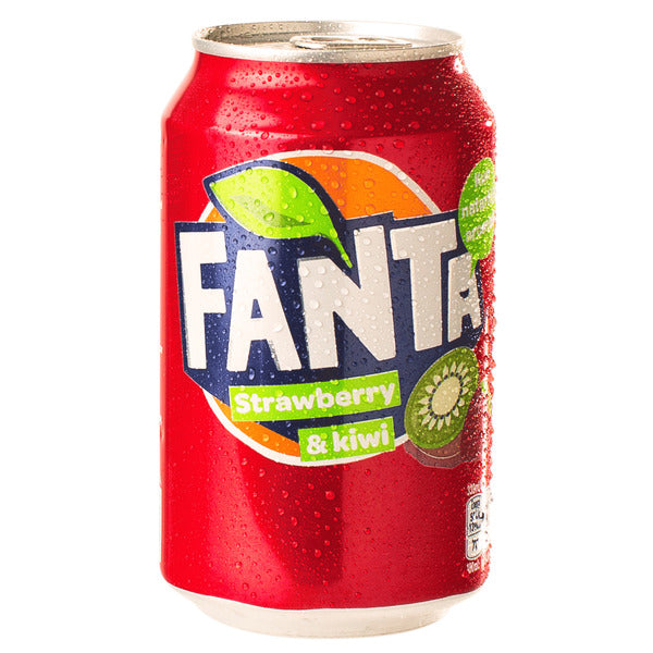 Fanta Strawberry & Kiwi 330ml - sooo fruchtig!