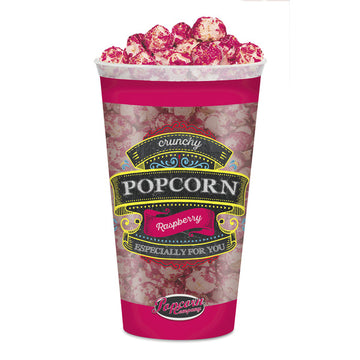 Crunchy Popcorn Raspberry - pretty in pink