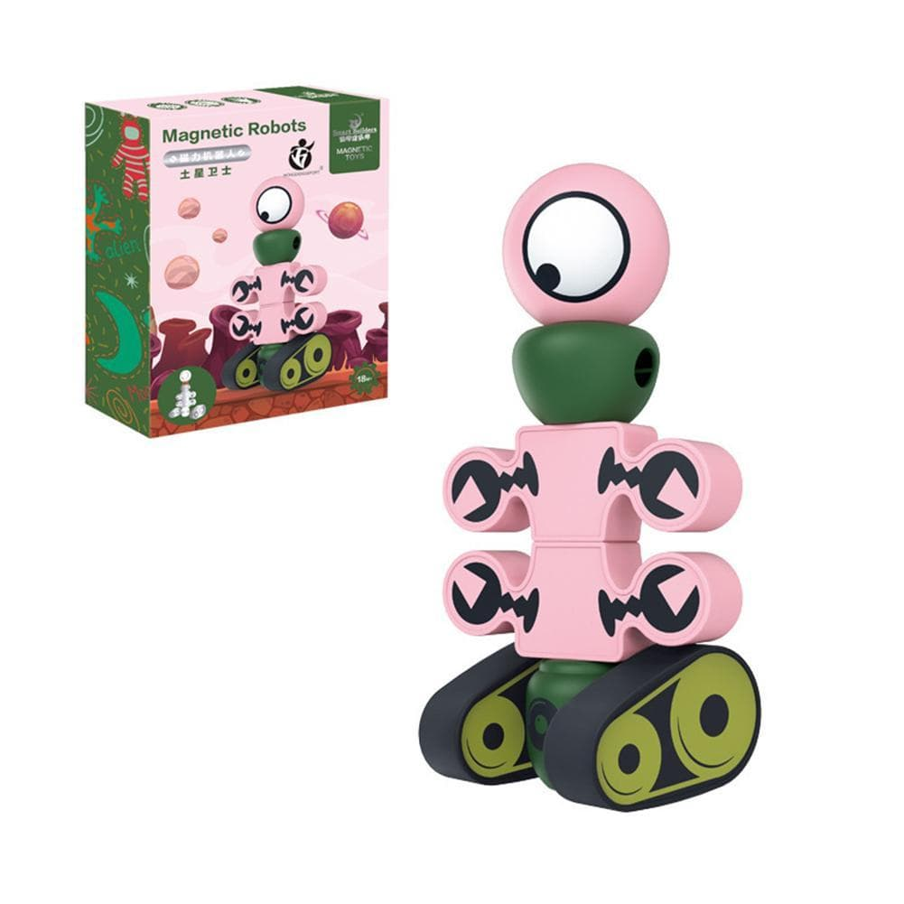 Magnetic Robot Building Block - Educational Playset