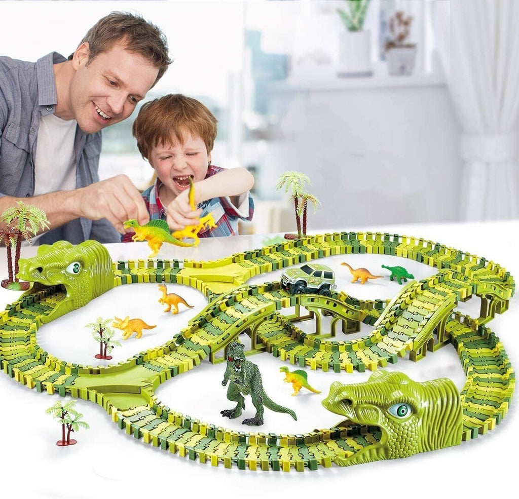 Dinosaur Car Track- DIY Assembly Toy