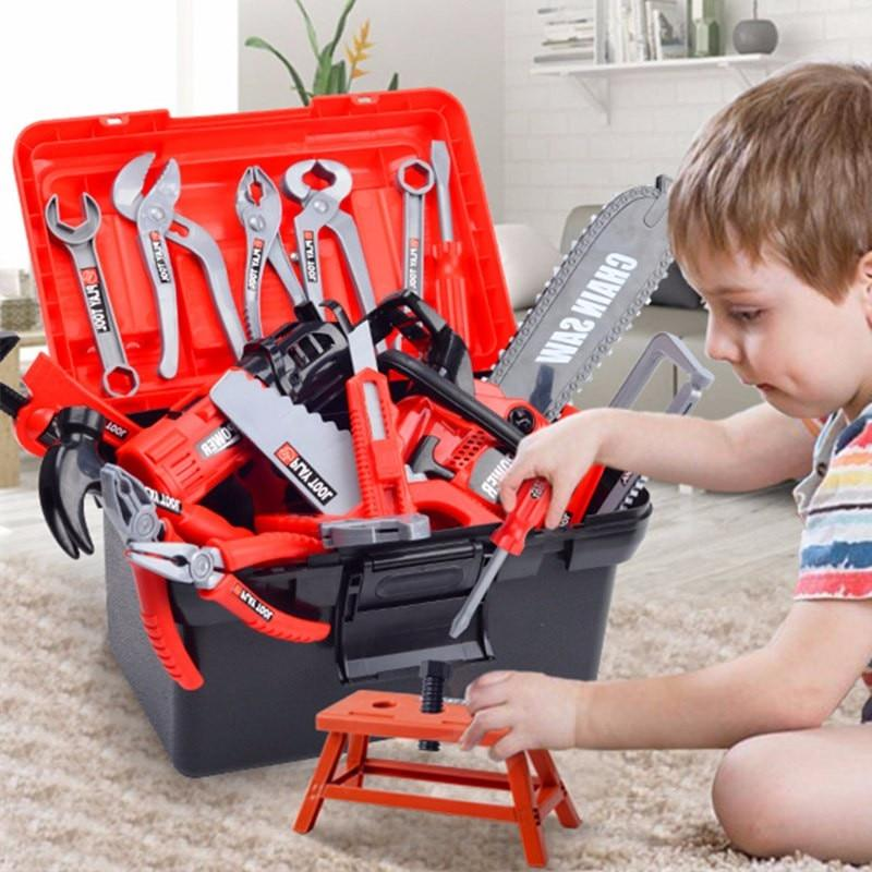 Little Engineers Toolset - Construction Toy Tools
