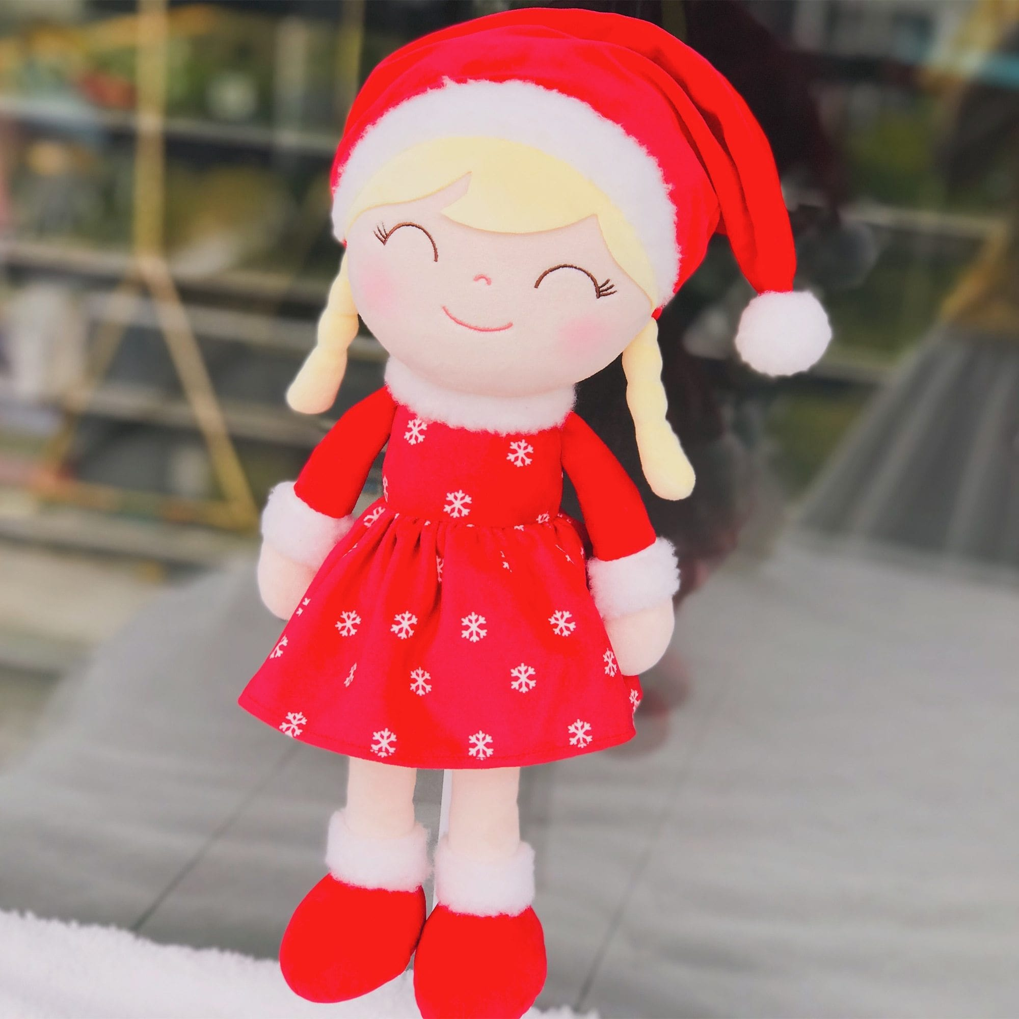 Gloveleya Christmas Dolls