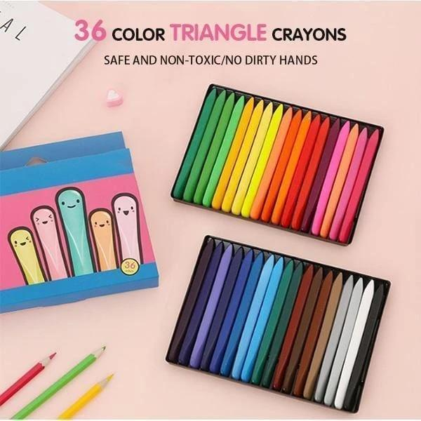 Magical Erasable Crayon - 36 Colors Drawing Supplies
