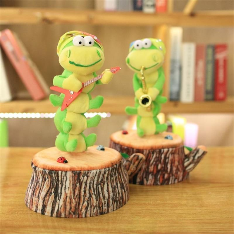 Lovely Electric Dancing Caterpillar - Educational Music Stuffed Toys