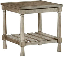 Load image into Gallery viewer, Progressive Furniture Chastain Park Square End Table in Weathered Linen 7515
