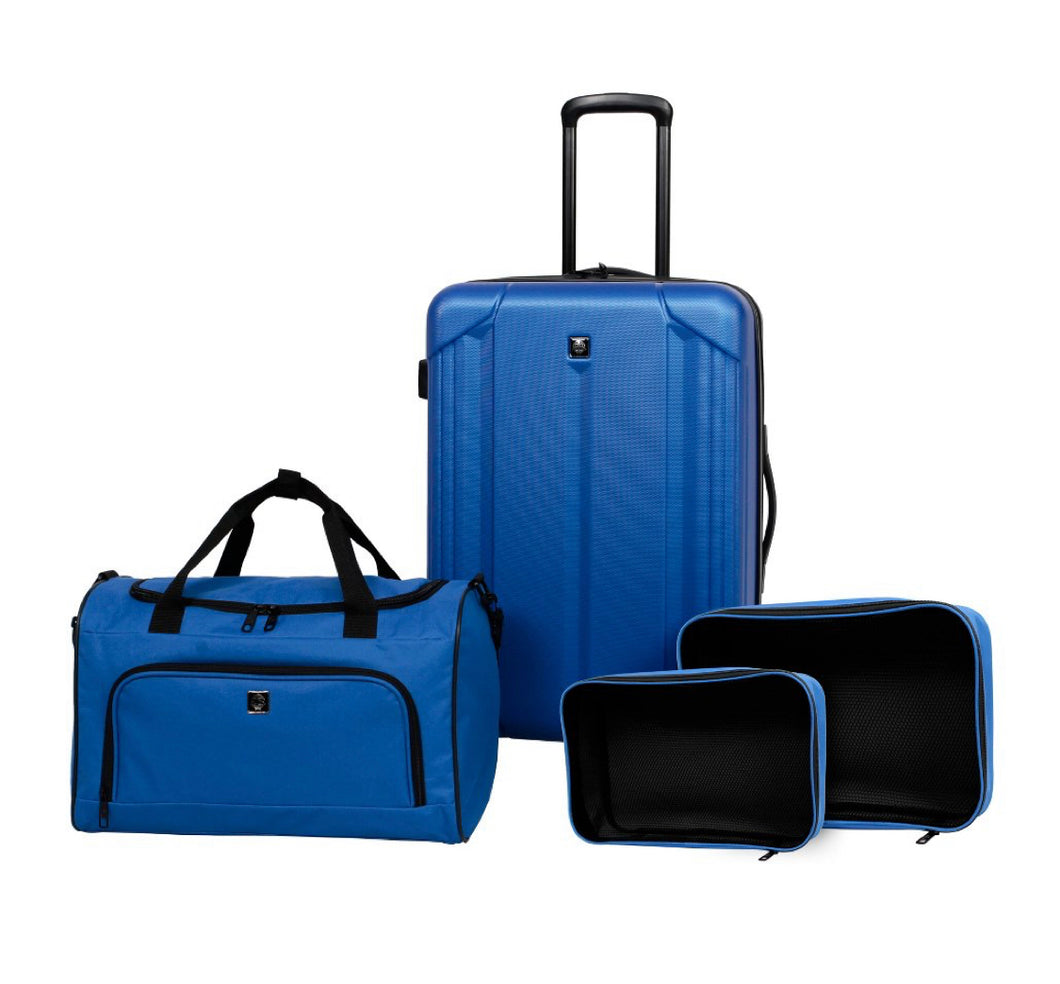 Skyline 4pc Hardside Luggage Set - Blue #4212