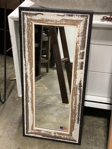 Modern and Contemporary Distressed Mirror 30