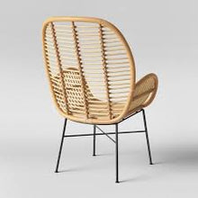 Load image into Gallery viewer, Lily Rattan Armchair #6013