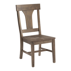 Rustic Wood Brinley Dining Chairs Set Of 2 #4201