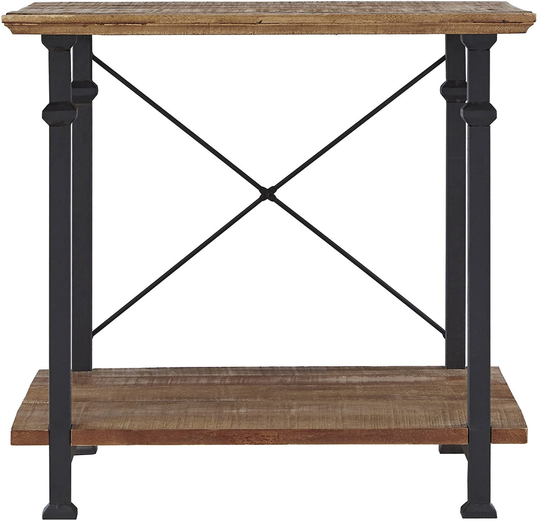 End Table, Color: Rustic Brown, #6616