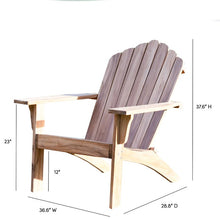 Load image into Gallery viewer, Coyne Teak Adirondack Chair, #6651