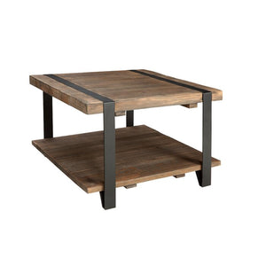 Throop Coffee Table with Storage, Color: Rustic Natural, #6671