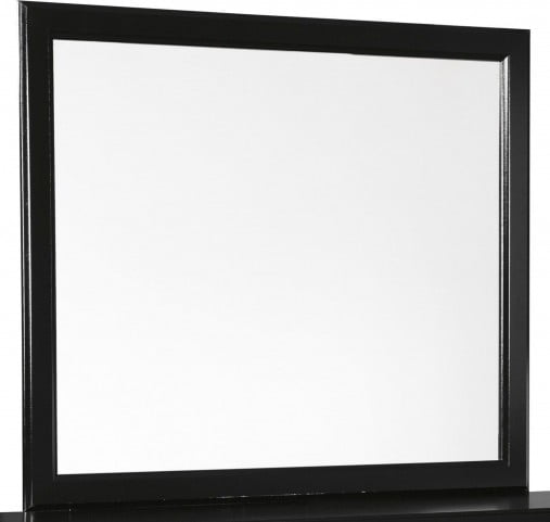 Starberry Bedroom Mirror, Color: Black, #6705
