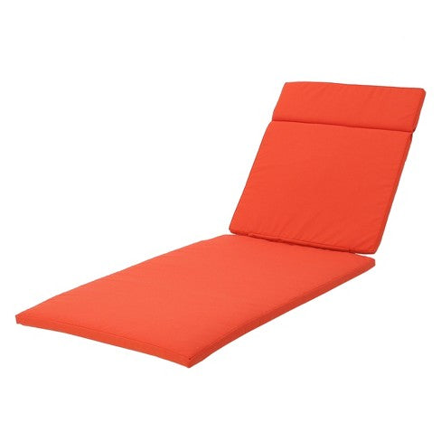 Salem Chaise Lounge Cushion - Christopher Knight Home, Color: Orange, #6719