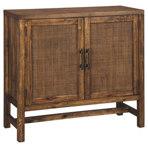 Beckings Accent Cabinet, Color: Brown, #6730