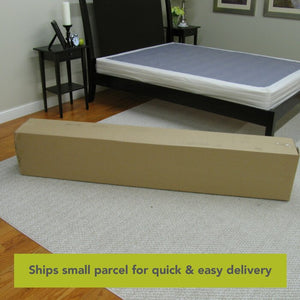Low Profile Wood Box Spring Foundation, #6757