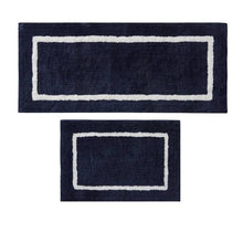Load image into Gallery viewer, Reversible High Pile Tufted Microfiber Bath Rugs, #6779