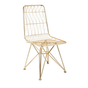 Larkin Wide Iron Occasional Chair, #6813