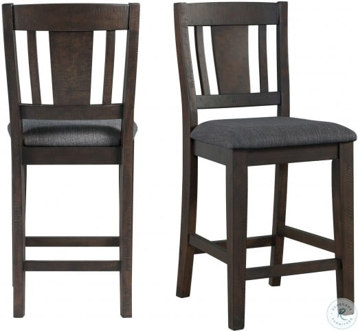 Carter Counter Height Chair Set Of 2, #6840